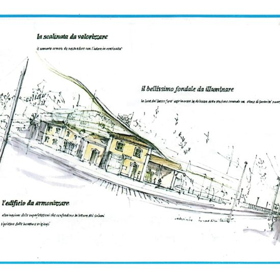 Riqualificazione area Stazione Ferroviaria Gemonio (VA) – Euristico