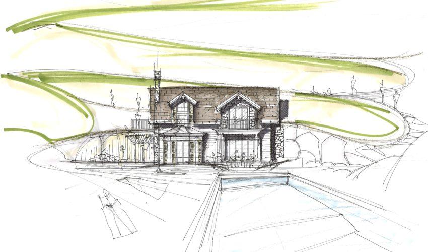 Progetto nuova villa sul Lago Maggiore