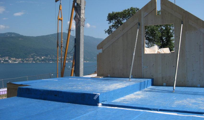 Realizzazione nuova villa sul Lago Maggiore
