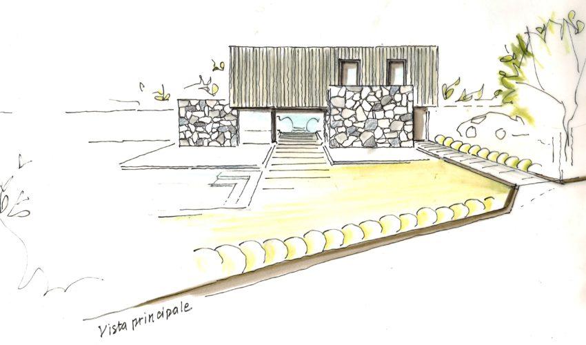 Progetto nuova villa, Gallarate (VA)