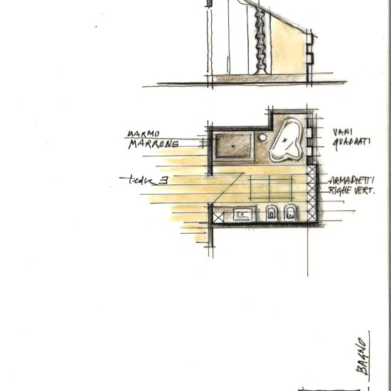 Ristrutturazione attico in villa storica, Sacro Monte di Varese