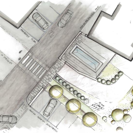Proposta di Programma Integrato di Intervento per realizzazione nuova autorimessa pertinenziale, sistemazione aree verdi e spazi pubblici
